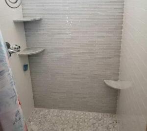 best bathroom corner shelves
