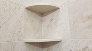 ceramic corner shower caddy