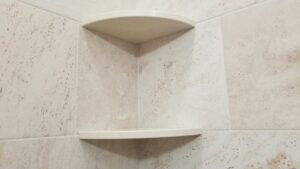 Ceramic Corner Shelves for Shower