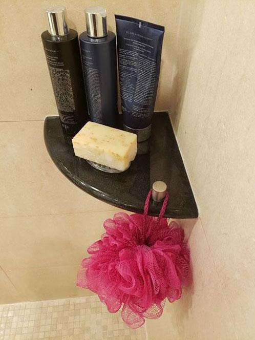 one shelf shower caddy