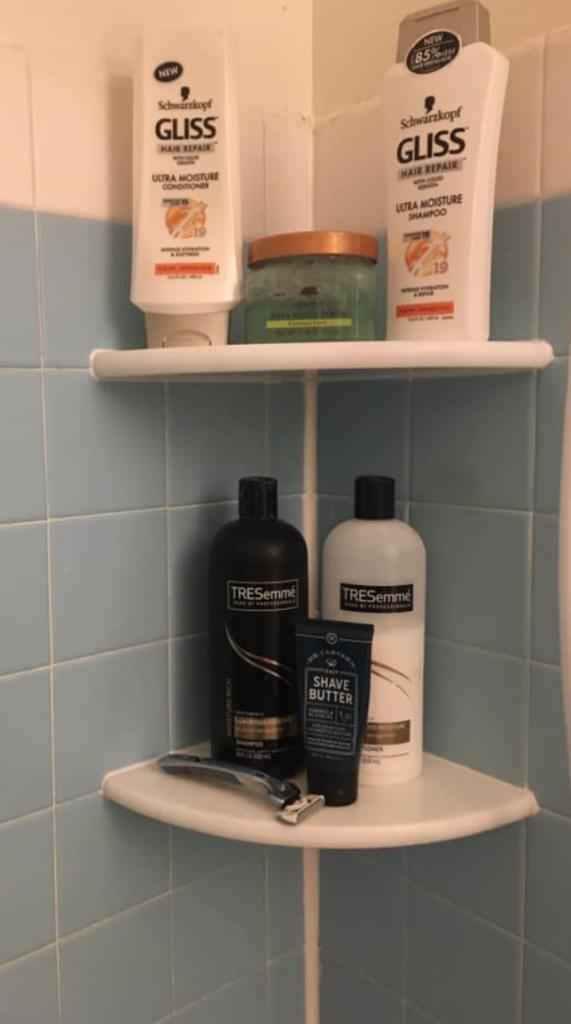 organizer for shower