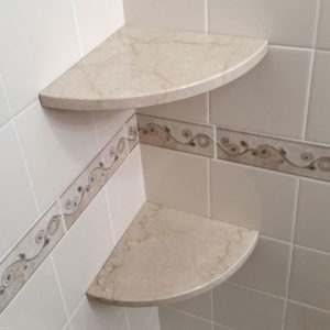 shower cubby shelf
