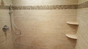 Shower Tile Insert Shelf