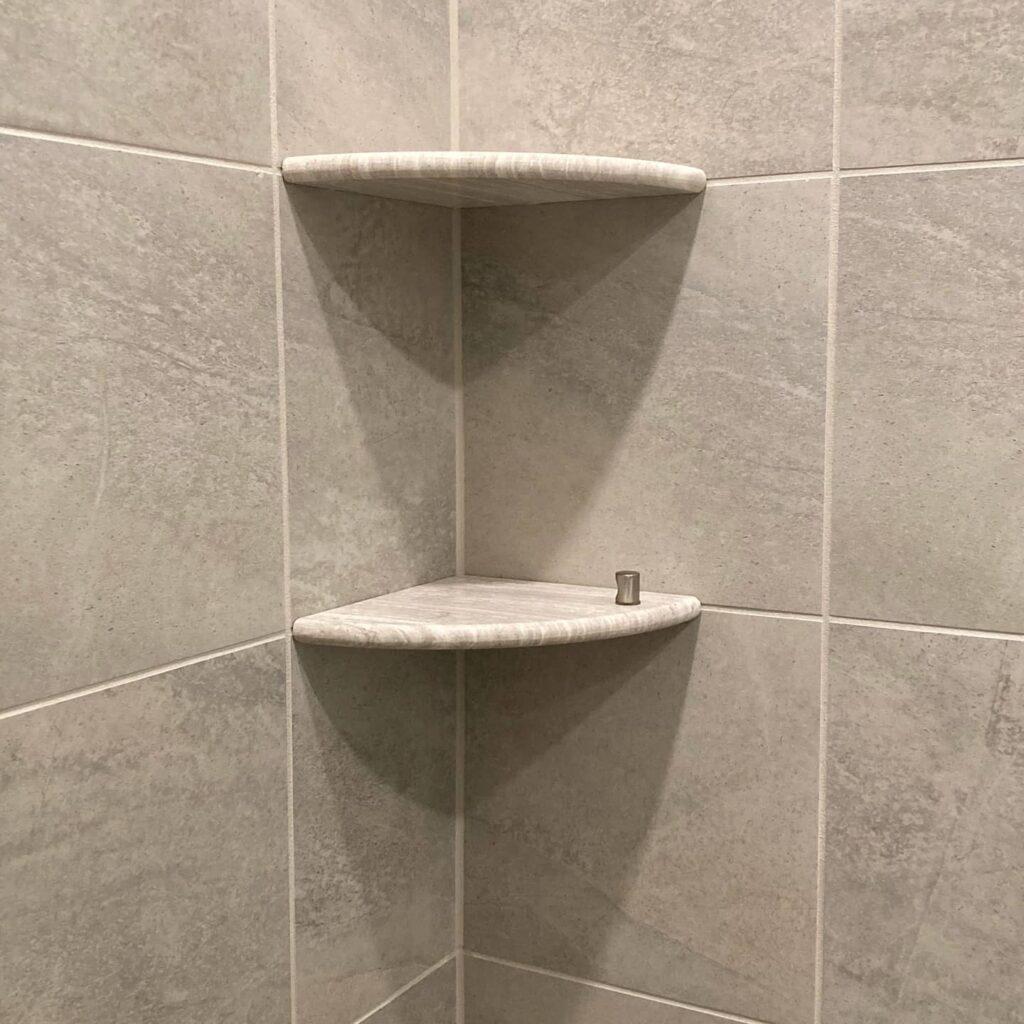 waterproof corner shelf
